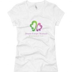 Drum Corps Mamas Slim logo t-shirt