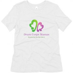 Drum Corps Mamas relaxed soft logo t-shirt
