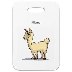 Llama Luggage Tag