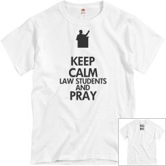 LAW STUDENTS PRAY