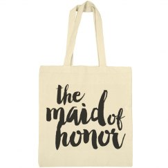 Maid of Honor Script Bag