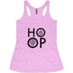 HOOP light pink girls tank