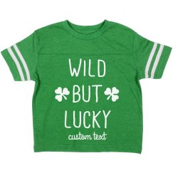 Wild But Lucky Custom Sporty Toddler St. Patrick's Day