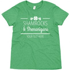 Shamrocks & Shenanigans Youth Top