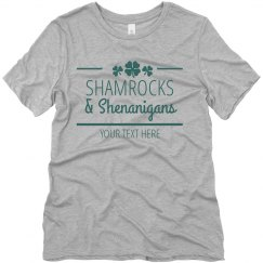 Shamrocks & Shenanigans Custom Top