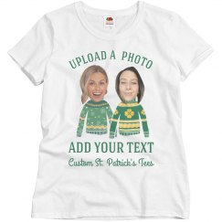 Funny Friend's St. Patrick's Faces