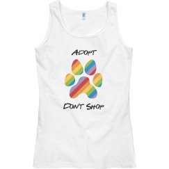 Adopt Don't Shop Tank