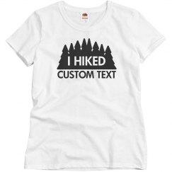 Custom Hiking Trail Tee