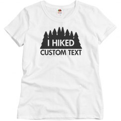 Custom Hiking Trail Tee