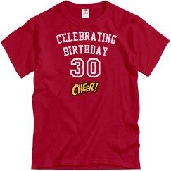 Celebrating 30 years old