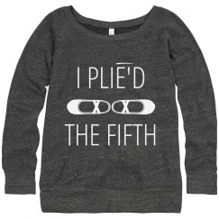 Plié'd the Fifth Dance Sweater