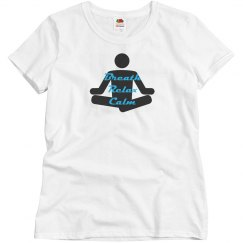 Yoga - Misses Fruit of the Loom Cotton T-shirt