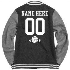 Custom Volleyball Team Bomber Jacket