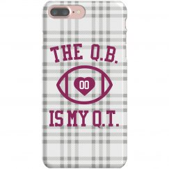 The Q.B. Is My Cutie Phone Case