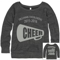 Freshman Cheer Sweatshirt