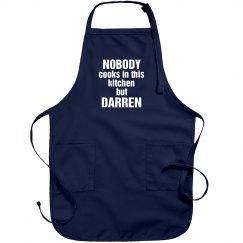 Darren is the cook!