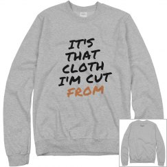 It's That Cloth Hoodie Grey/Blk