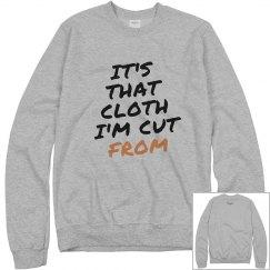 It's That Cloth Hoodie Grey/Blk
