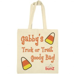 Trick or Treat Bag w/Name