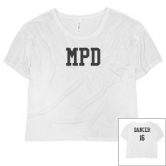 MPD Mesh Crop Top