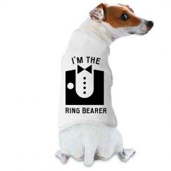 Dog Tux Ring Bearer