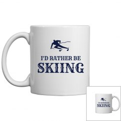 Rather be skiing