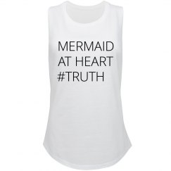 Mermaid At Heart Truth Hashtag