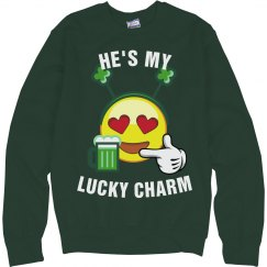 He's My Lucky Emoji