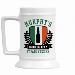 Murphy's St. Patty Stein