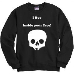 Skull unisex pullover