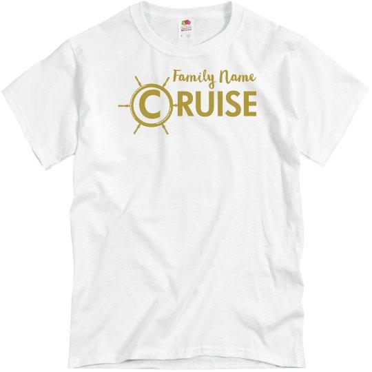 7ab8dbb5d Custom Family Cruise Shirt Unisex Basic Promo T-Shirt