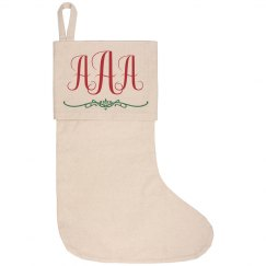 Custom Monogram Christmas Initials
