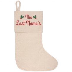 Custom Family Christmas Stockings