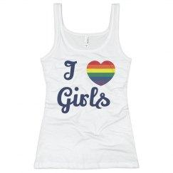 I Love Girls Gay Pride