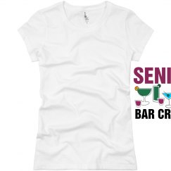 Senior Bar Crawl Drinks