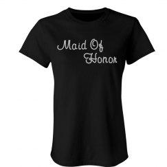 Maid Of Honor Rhinestone