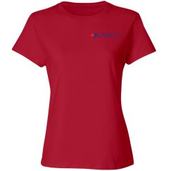 2019 Mid- Year Training Ladies T-shirt- Red