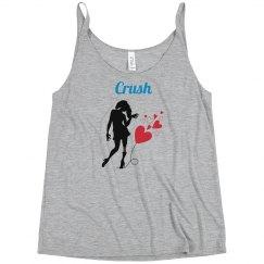 Crush - Mint racer back tank