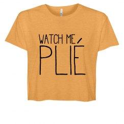 Watch Me Plié Ballet Crop