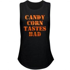 Metallic Candy Corn Tastes Bad