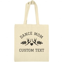 Custom Dance Mom Tote Bags