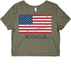 USA Gal Crop