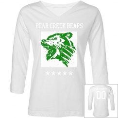 Bear Creek Bears V-Neck Tee