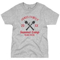Family Summer camp Custom Tee