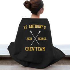 CREW TEAM BLANKET NOT PERSONALIZED