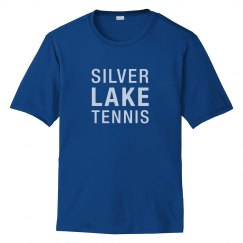 Adult SILVER LAKE TENNIS Performance tee