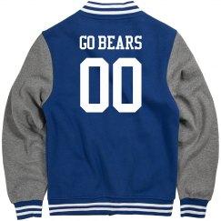 Custom Mascot & Number Varsity Jacket