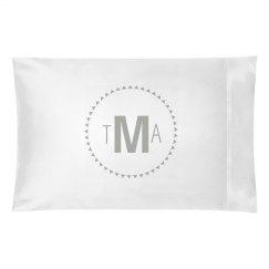 Blue Monogram