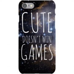 Cute Doesn't Win Game Space Case