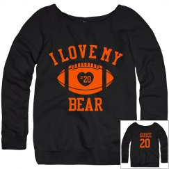 Love my bear sweatshirt